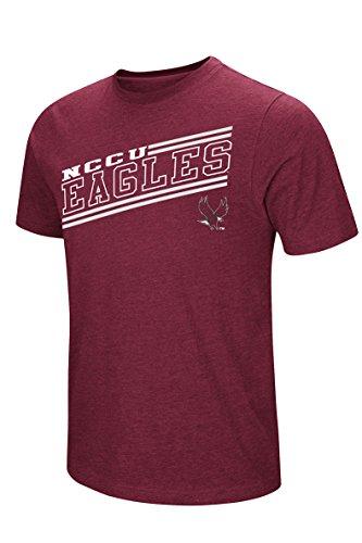 - Colosseum Men's NCAA Fly Ball Tee M, North Carolina Central University Eagles