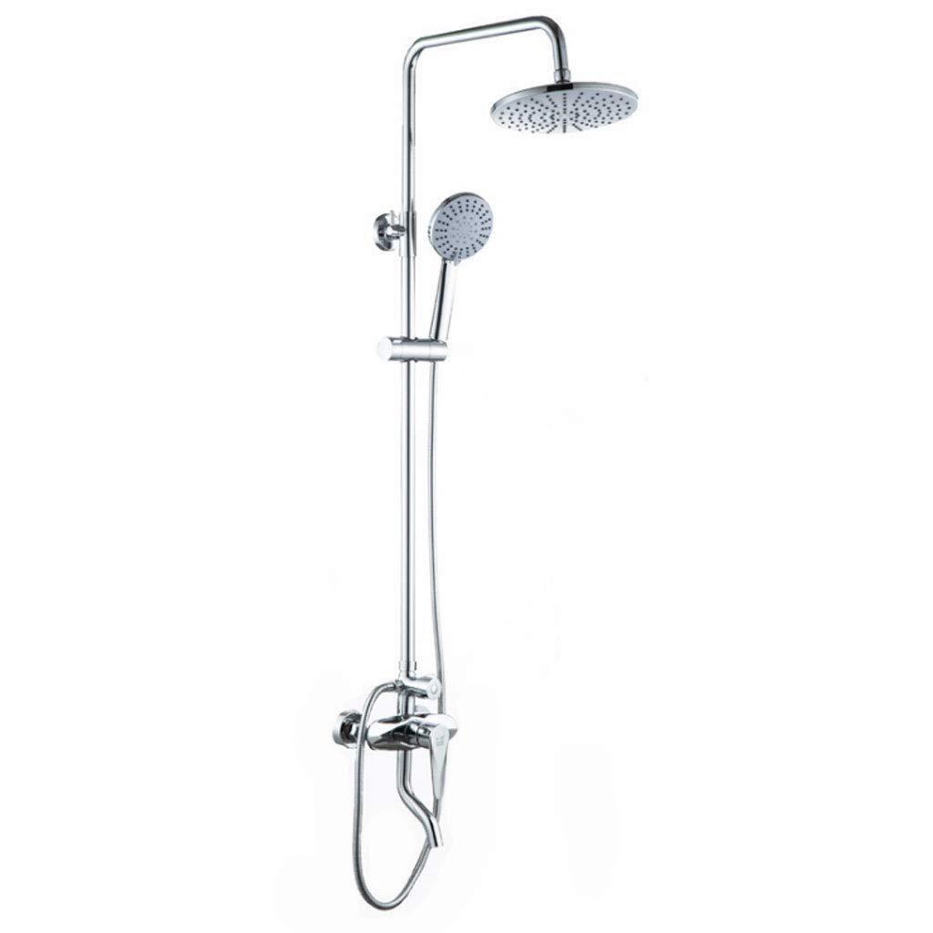 シャワー ウォールマウントシャワーミキサーセット高グレードバスルーム豪華なレインフォールシャワーヘッドコンボセット B07M77G1H5