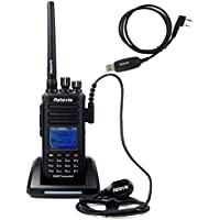 Retevis RT8 IP67 Waterproof DMR Digital Radio UHF 400-480 1000 Channel Dust-proof 2 Way Radio with 2 Antennas
