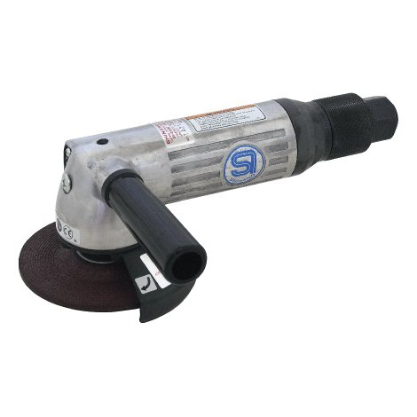 SHINANO SI-2500 100MM GOVERNED PNEUMATIC (AIR) ANGLE GRINDER 11000RPM ROLL THROTTLE by Prasertsteel