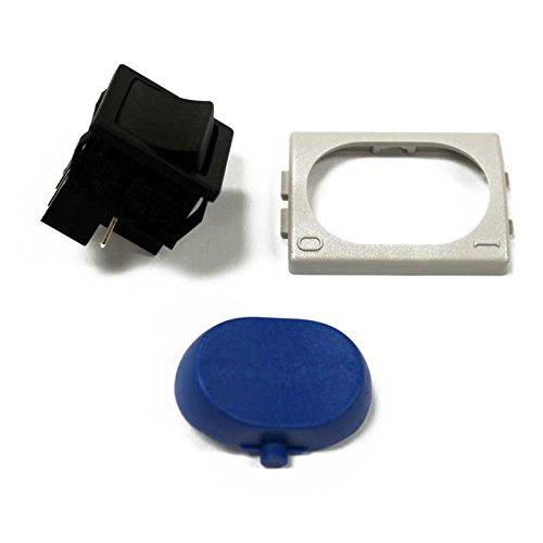 Karcher 8.600-088.0 Switch, Blue Rocker/Plate/Cover 3 Piece