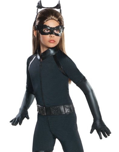 Batman Dark Knight Rises Child's Deluxe Catwoman Costume