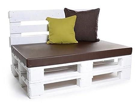 PadsForAll palé Cojín Muebles de Jardín, Asiento para Banco, colchón Cojines también M.