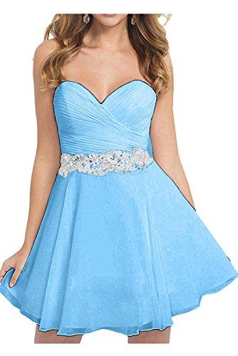 Vestido trapecio Topkleider Azul para mujer 0Y11qa