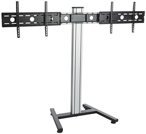 Displays2go DMF3760SV Video Conference HDTV Stand, Rolling 37-60