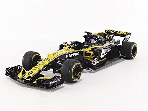 Solido S1802401 1 Renault RS 18 F1-2018 Launch Version, Yellow/Black