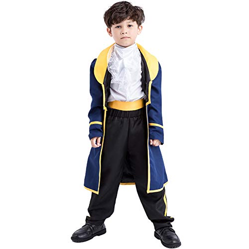 (Mukola Toddler Prince Charming Costume Uniform Boys Cosplay)