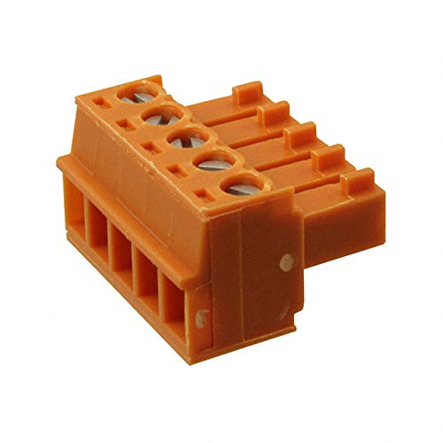 TERM BLOCK PLUG 5POS STR 3.81MM (Pack of 10)