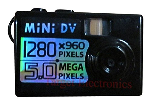 Winait 5MP Mini 5mp Worlds Smallest Hd Digital Video Camera Spy Camera Video Recorder Hidden Cam DV DVR with 1280 X 960 Resolution