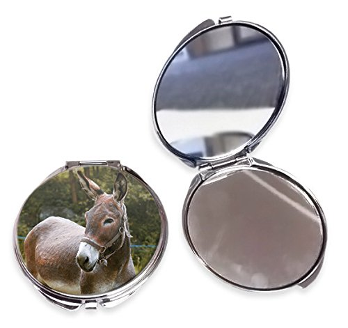 Donkey Animal Compact Mirror Duke Gifts