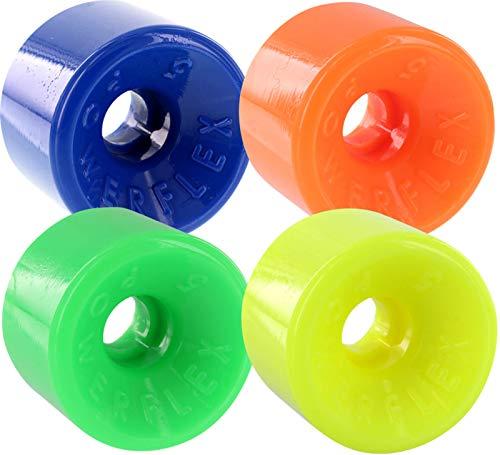 尊敬するガード謙虚Powerflex Skateboards Powerflex 5 Blue / Orange / Green / Yellow Skateboard Wheels - 63mm 88a (Set of 4) by Powerflex Skateboards