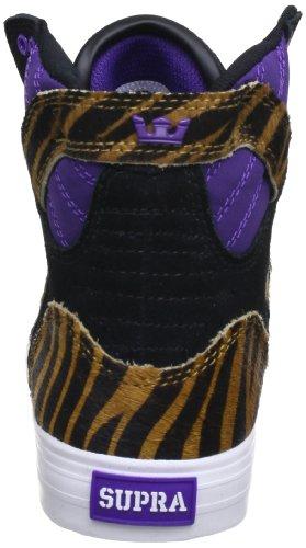 Supra SKYTOP - Zapatilla alta de cuero hombre morado
