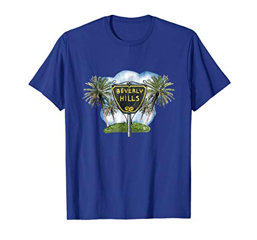 - Beverly Hills Drawing T-Shirt
