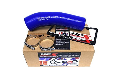 (HPS 57-1289-BLUE FJ80 Silicone Post MAF Air Intake Hose Tube by HPS )
