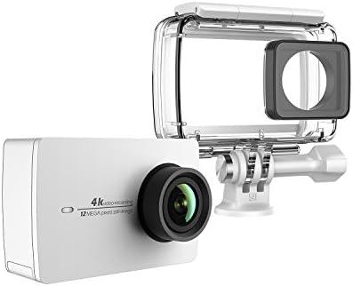YI 4K Cámara de Acción/Deportiva/cámara de Video 4k WiFi Ultra HD con Carcasa Impermeable de Lente de Amplio ángulo con una Pantalla táctil de ...