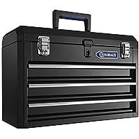 Kobalt HS3DMHB-13 20.6-in 3-Drawer Steel Lockable Tool Box
