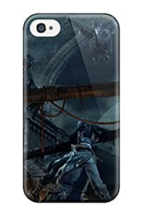 Protective Tpu Case With Fashion Design For Iphone 4/4s (bloodborne)