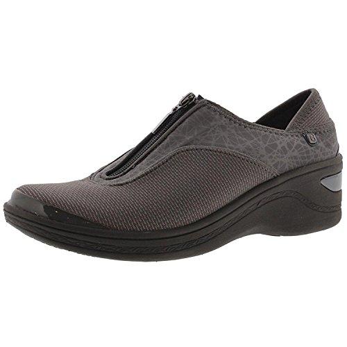 Bzees Donna Diva Con Texture Sneakers Attive Grigio Scuro