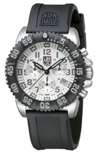 Luminox Men's 3187 Swiss Quartz Movement Chronograph Watch
