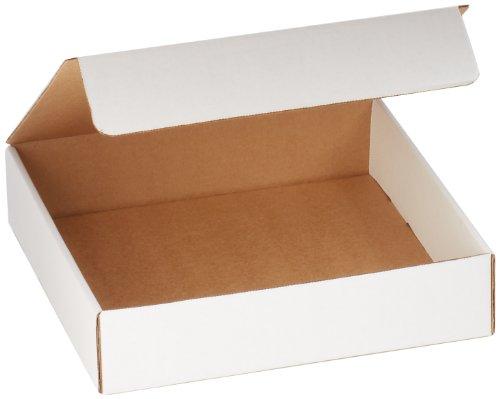 3 White Literature Mailers (Aviditi ML13133 Corrugated Literature Mailer, 13