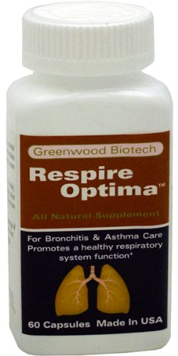 Greenwood RespireOptima TM - For Bronchitis & Asthma Care Promotes a healthy respiratory system function