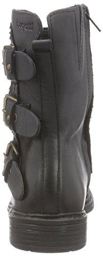 J70361r1 Black Bugatti Biker 100 Women's Boots Schwarz FxnnpZw