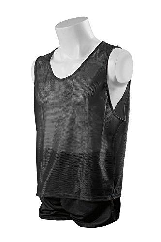(Kwik Goal Youth Deluxe Scrimmage Vest, Black)