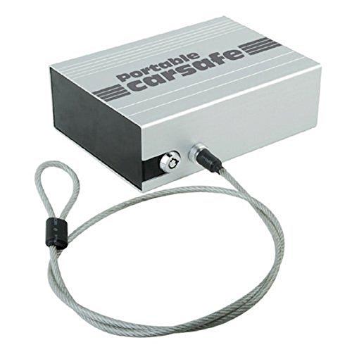 Yunanwa Portable Car Safe Box Handgun Safe Lock Vault Personal Vault Security Lock Box Cable by yunanwa (Image #4)