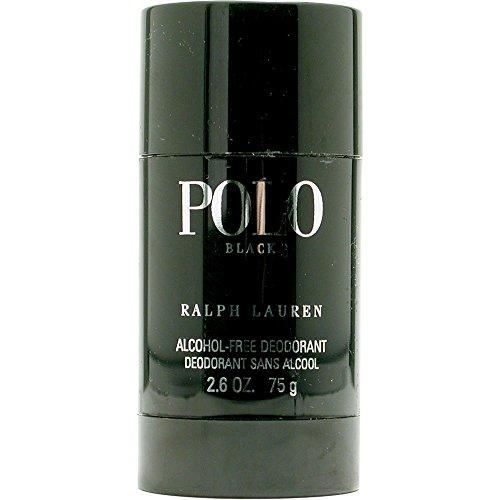 POLO BLACK by Ralph Lauren DEODORANT STICK ALCOHOL - Polo Ralph Lauren Black Cologne