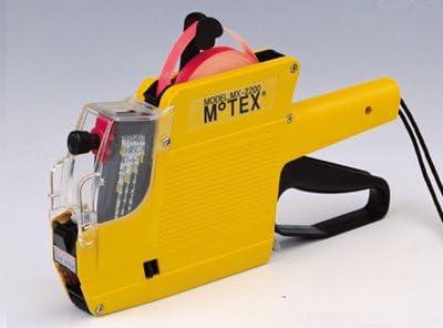 Motex MX-2200 MX2200 Price Labeler Pricing Gun Ink Roller Black 2 Pack
