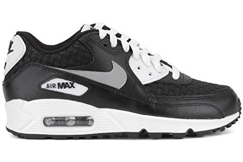 Nike Air Max 90 Prem Mesh (GS), Scarpe da Corsa Bambino Nero