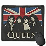 Mouse Mat with Designs Rock Band Queen Mousepad Gaming Mouse Pad Natural Rubber 25X30 cm