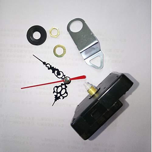 Maslin 10pcs Quartz Clock Movement for Clock Mechanism Repair DIY Clock Parts Accessories Short Shaft 12mm JX055