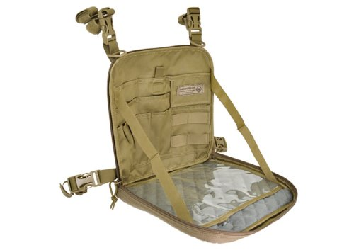 Hazard 4 VentraPack 2-in-1 Molle Chest Pack/Slim Shoulder Bag, Coyote
