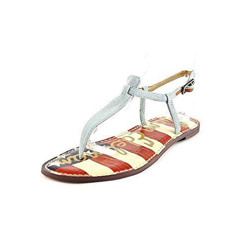 Sam Edelman Women's Gigi Heavenly Blue (American Flag) Sandal 6 M