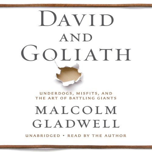David and Goliath: Underdogs, Misfits, and the Art of Battling Giants Audiobook [Free Download by Trial] thumbnail