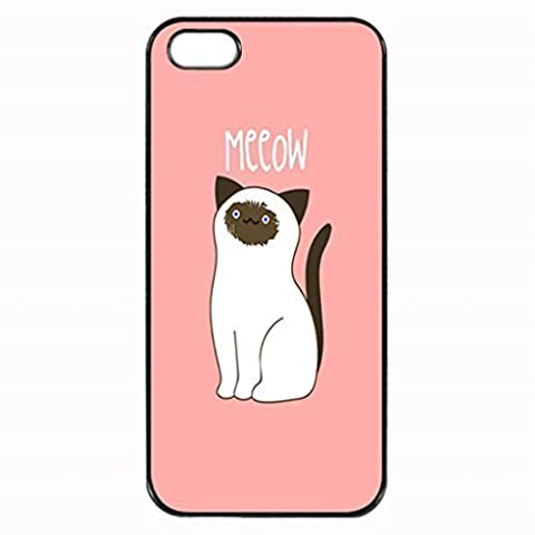 SIAMESE KITTY CATS Pattern Image Protective iphone ipod touch4 / iPhone 5 Case Cover Hard Plastic Case For iPhone ipod touch4