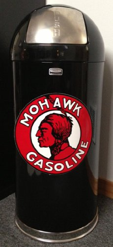 Retro Style Bullet Trash Can- Mohawk Gasoline