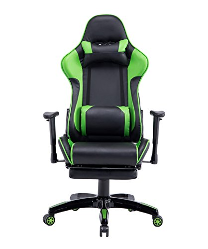 Baymate Gaming Computer Ergonomic Racing Chair Reclining PU Leather Office Chairs With Footrest Most Popular