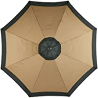 Jordan 9-ft Steel Market Umbrella