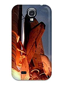 6330723K74038326 Galaxy S4 Case Cover - Slim Fit Tpu Protector Shock Absorbent Case (space S)
