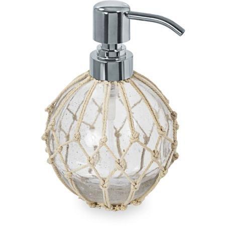 100 Percent Glass Nautical Lotion Pump Better Homes and Garden AX-AY-ABHI-102476