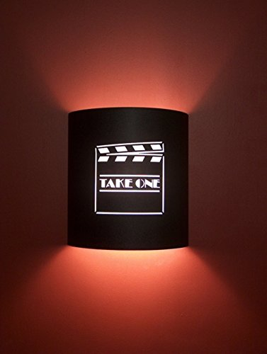 Take One Director Black Home Movie Theater Sconces by Stargate