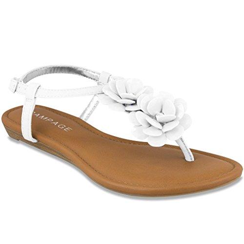 Rampage Dandylion Women's Sandal White 7