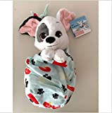 Disney Parks Dog Puppy Baby Patch Dalmatian in a Pouch Blanket Plush Doll