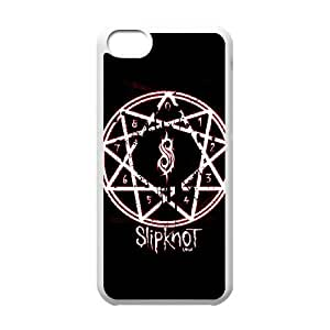 iPhone 5c Cell Phone Case White Slipknot XJR Personalized Hard Phone Case