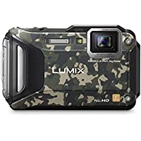 Panasonic DMC-TS6Z LUMIX WiFi Enabled Tough Adventure Camera (Camouflage)