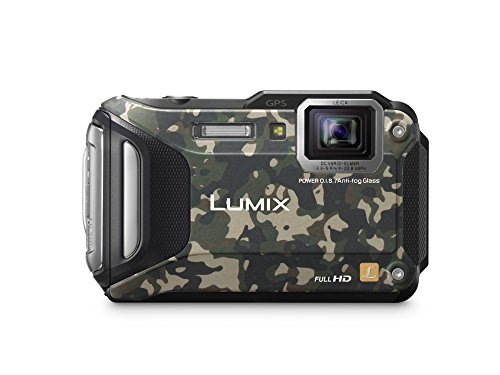Panasonic DMC TS6Z Enabled Adventure Camouflage