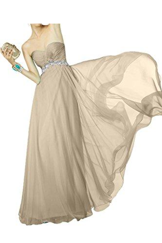Brautjungfernkleider Braut Chiffon Abendkleider Marie Rock Linie Orange Champagner La Ballkleider A Langes 5w0RxH