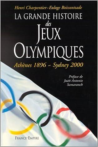 Livres La grande histoire des Jeux olympiques epub pdf